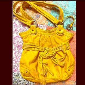 Red by Marc Echo Mustard Yellow Tote Handbag